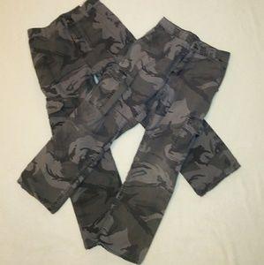 Wrangler Bottoms - 3/$15 Two Pairs ofBoys Wrangler Camo Pants 14 Reg